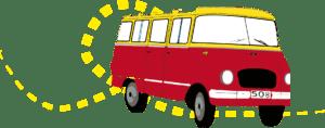 Bus itinérant du théâtre de la gargouille