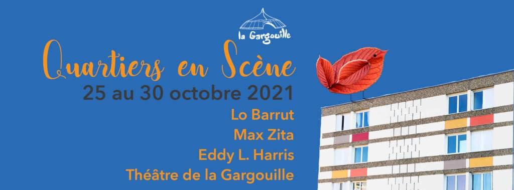 Quartiers En Scène 2021 Bergerac Théâtre de la Gargouille Politique de la Ville Paratge
